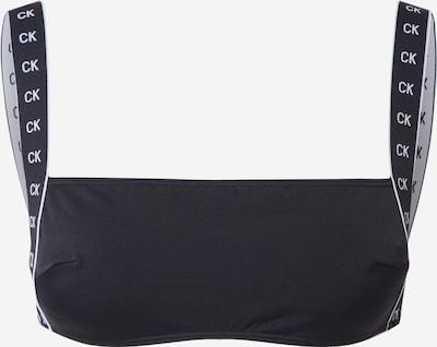 Calvin Klein Swimwear Bikinitop in schwarz, Produktansicht