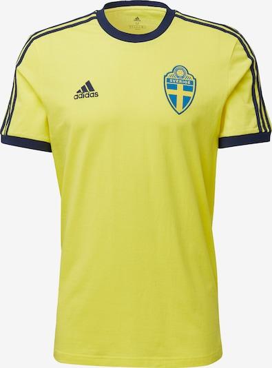 Tricot 'Schweden 3-Streifen' ADIDAS PERFORMANCE pe bleumarin / galben, Vizualizare produs