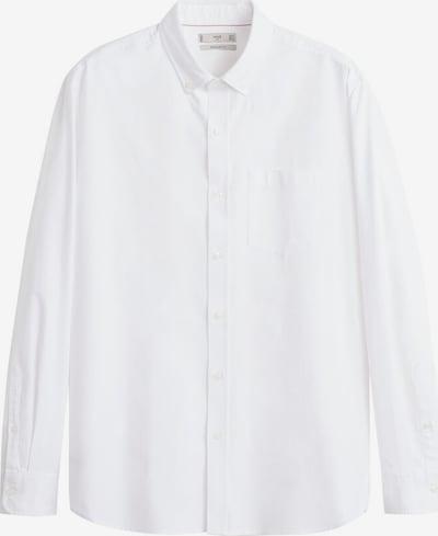 MANGO MAN Hemd 'Oxford' in weiß, Produktansicht