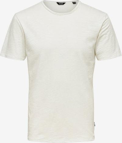 Only & Sons Bluser & t-shirts 'Albert' i hvid-meleret, Produktvisning