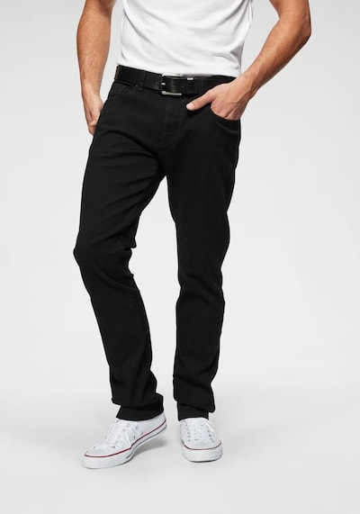 CAMEL ACTIVE Jeans 'Houston' in schwarz, Modelansicht