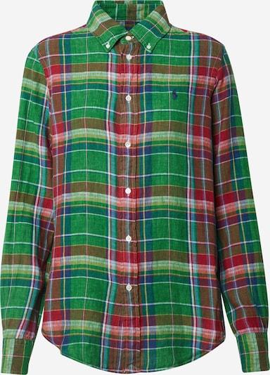 Bluză 'GEORGIA' POLO RALPH LAUREN pe verde / portocaliu, Vizualizare produs