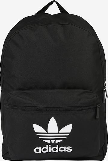 ADIDAS ORIGINALS Rucksack 'AC CLASS BP' in schwarz / weiß, Produktansicht