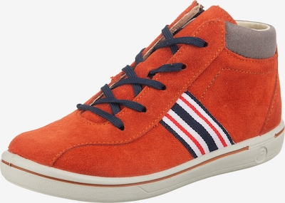 Pepino Hausschuh 'Johnny' in navy / orange / weiß, Produktansicht
