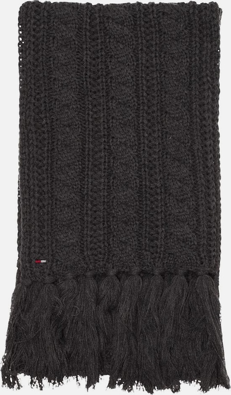 TOMMY HILFIGER Schal 'LONG CABLE SCARF'