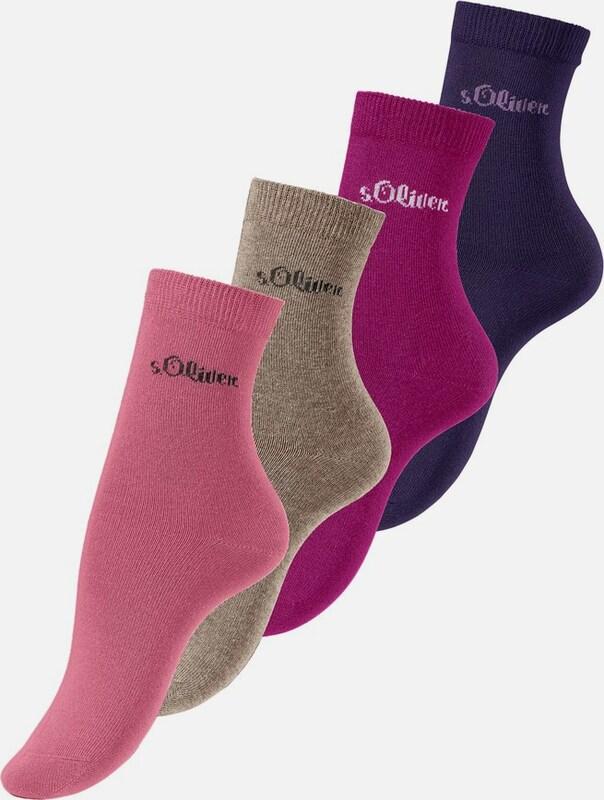 s.Oliver RED LABEL Socken (4 Paar)