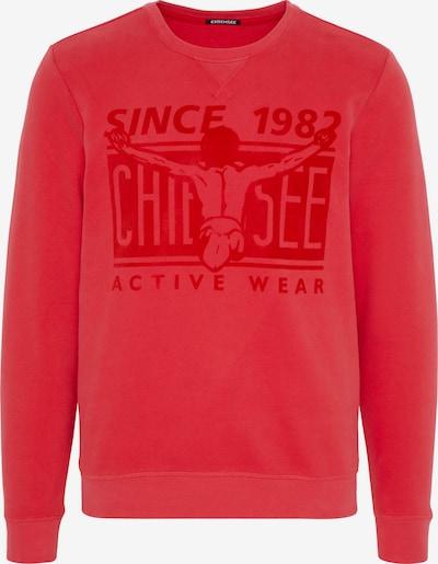 CHIEMSEE Sweatshirt in rot, Produktansicht