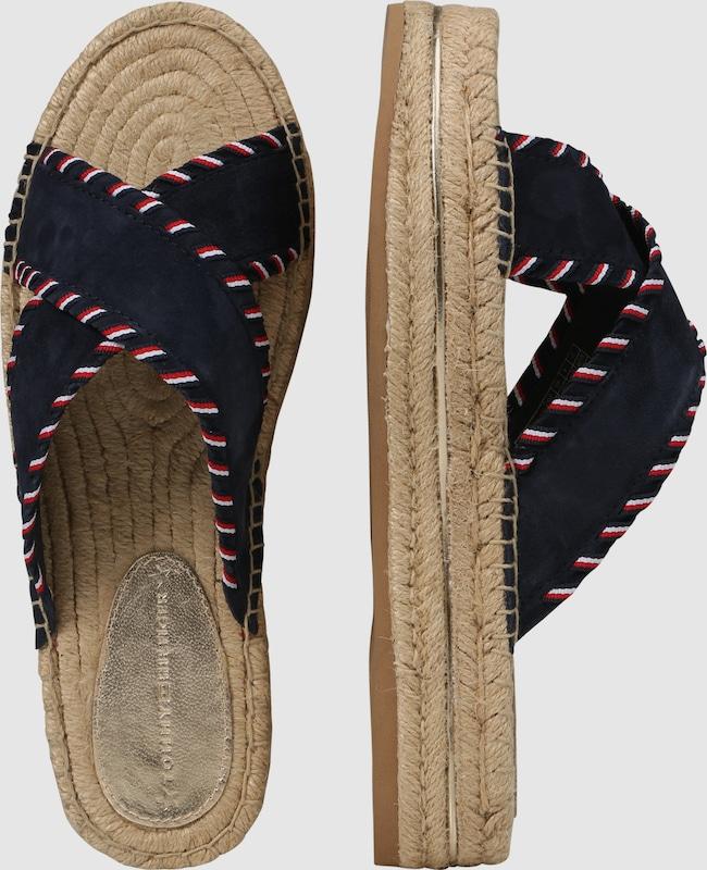 TOMMY HILFIGER Plateau-Pantolette Günstige und langlebige Schuhe