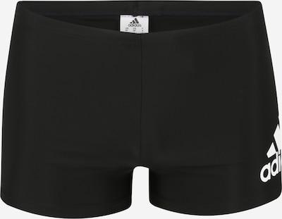 Pantaloni de baie ADIDAS PERFORMANCE pe negru / alb, Vizualizare produs