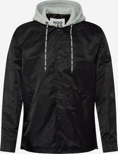 THE KOOPLES SPORT Jacke in grau / schwarz, Produktansicht