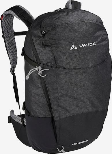 VAUDE Wanderrucksack 'Prokyon' in schwarz / schwarzmeliert, Produktansicht