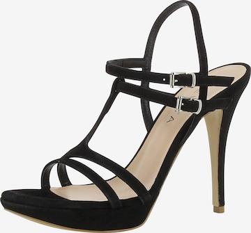 Sandales à lanières 'Valeria' EVITA en noir