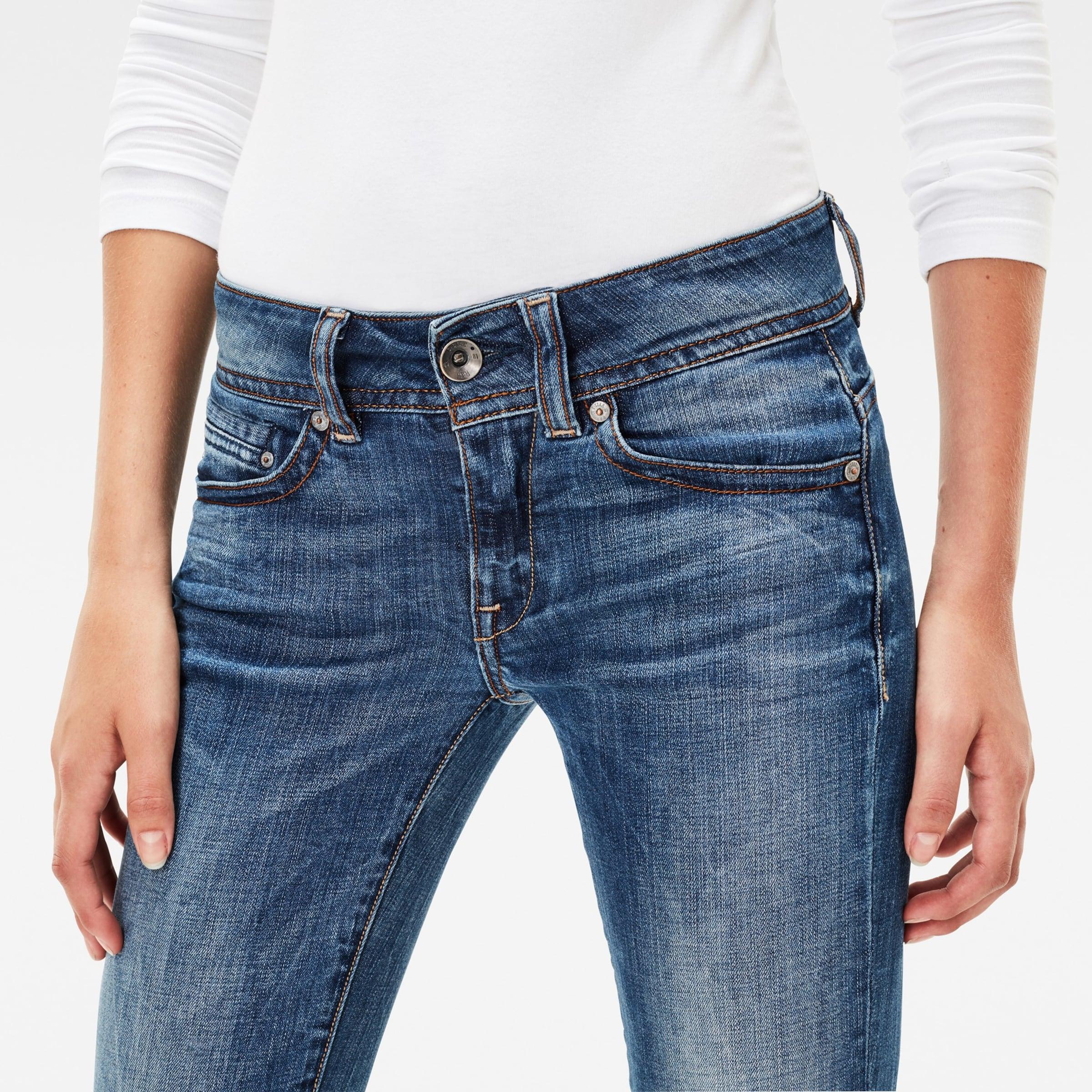 G-STAR RAW 'Midge Saddle Mid Straight' Jeans Billig Kaufen Bestellen Verkauf Billigsten EqDP3Hv