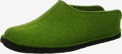 HAFLINGER Hausschuh in grün, Produktansicht