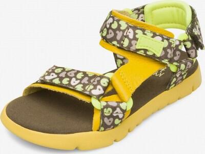 CAMPER Open schoenen 'Oruga' in de kleur Geel / Sinaasappel, Productweergave