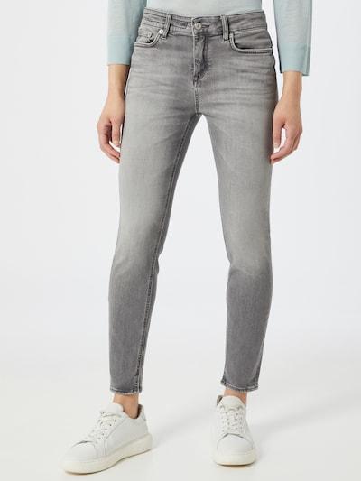 DRYKORN Jeans 'NEED' in grau, Modelansicht