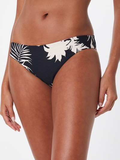 Seafolly Bas de bikini 'Hipster' en noir, Vue avec modèle
