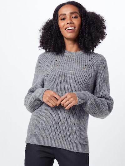 minimum Pullover 'allirea' in grau, Modelansicht