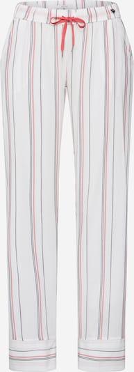Pižaminės kelnės 'Adah' iš ESPRIT , spalva - pastelinė raudona / juoda / balta, Prekių apžvalga
