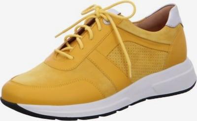 Ganter Schnürschuhe in gelb, Produktansicht
