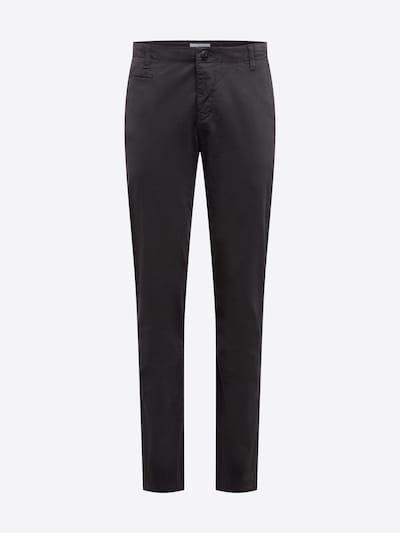 Pantaloni KnowledgeCotton Apparel pe gri: Privire frontală