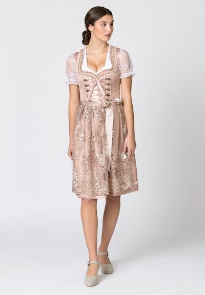 STOCKERPOINT Dirndl 'Lilou' en rose, Vue avec modèle