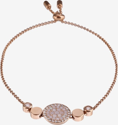 FOSSIL Armband in gold / rosé: Frontalansicht