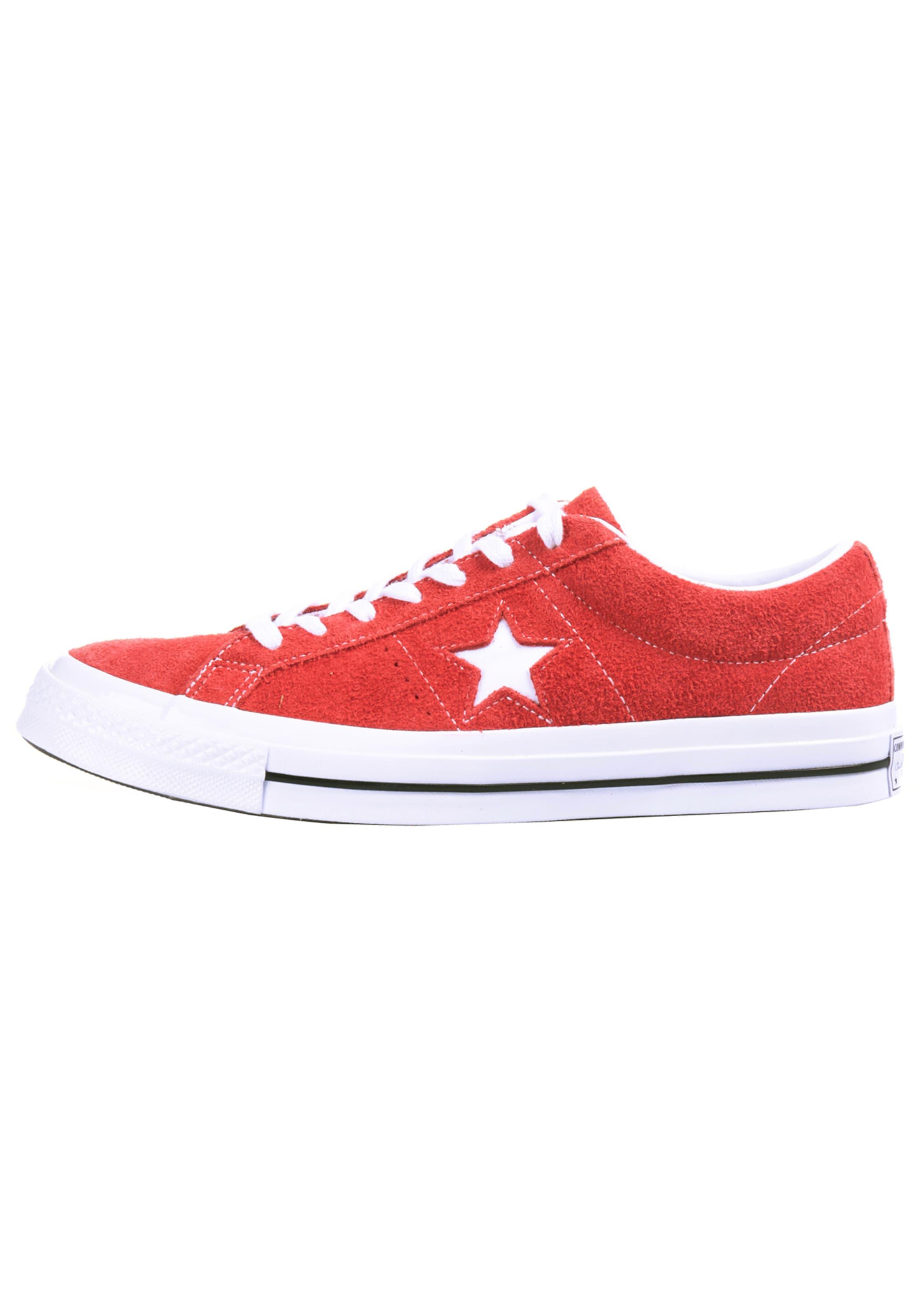 Converse Star In 'one Ox' HellrotWeiß Sneaker m8NnywOv0