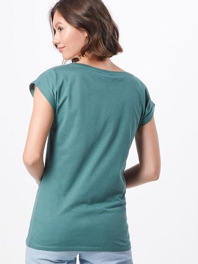 Iriedaily T-shirt 'Pusteblume' en vert: Vue de dos