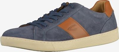 CAMEL ACTIVE Sneaker in rauchblau / cognac, Produktansicht