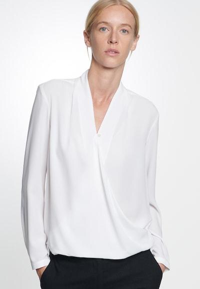 SEIDENSTICKER Bluzka 'Schwarze Rose' w kolorze białym: Widok z przodu