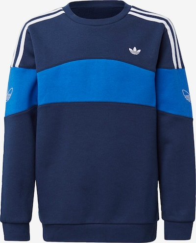 ADIDAS ORIGINALS Sweatshirt in blau / navy, Produktansicht