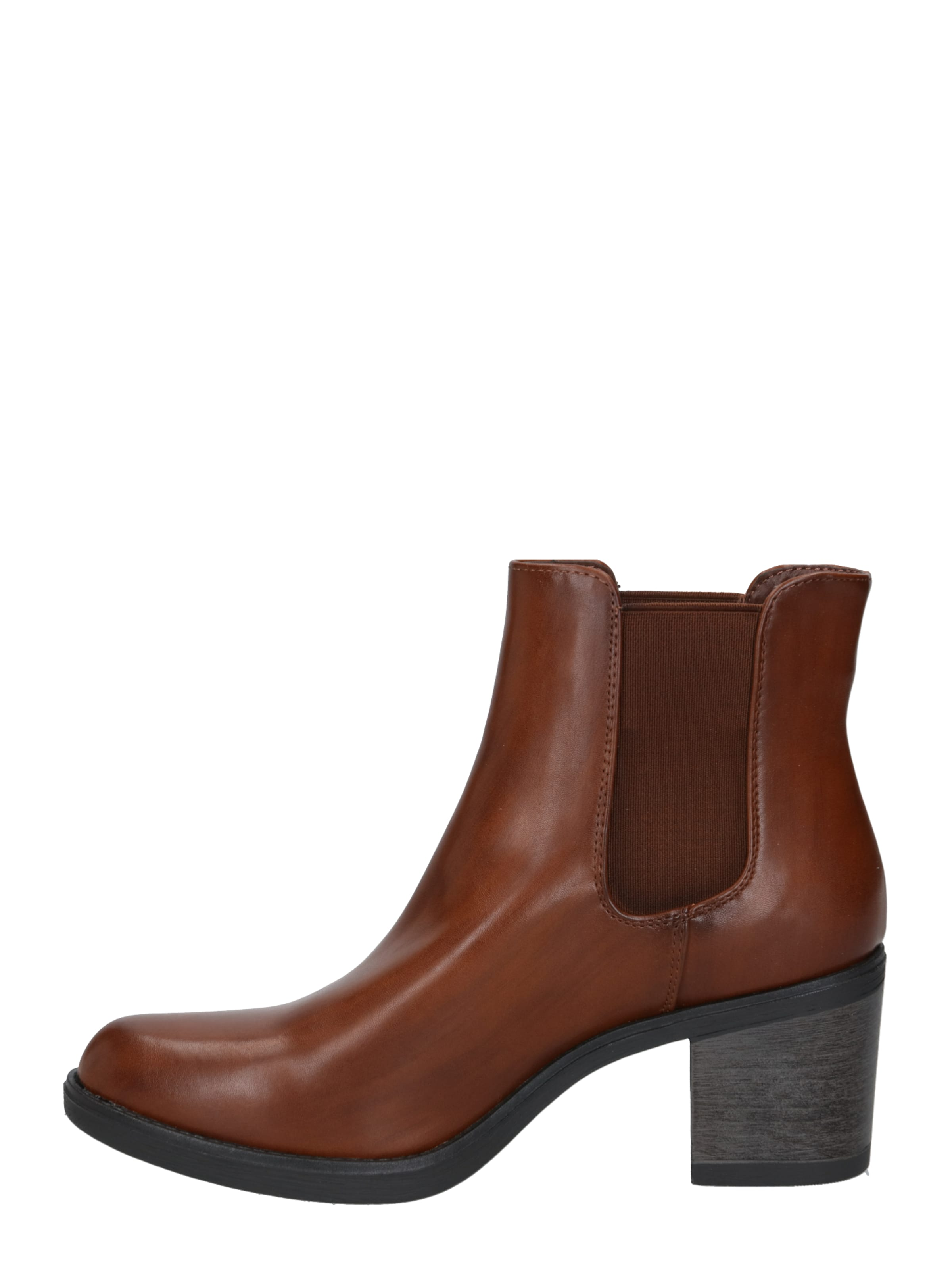 TOM TAILOR DENIM Chelsea boots i karamell