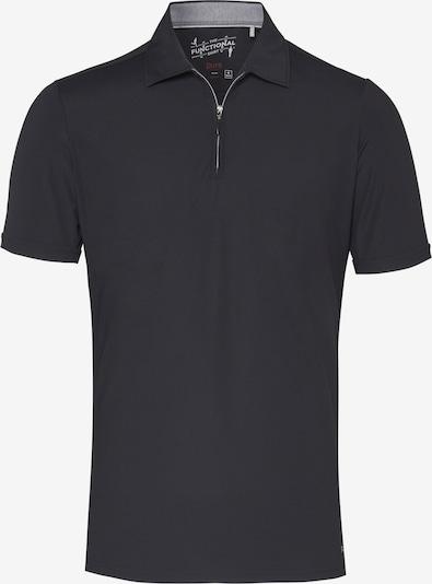 PURE Poloshirt in schwarz, Produktansicht
