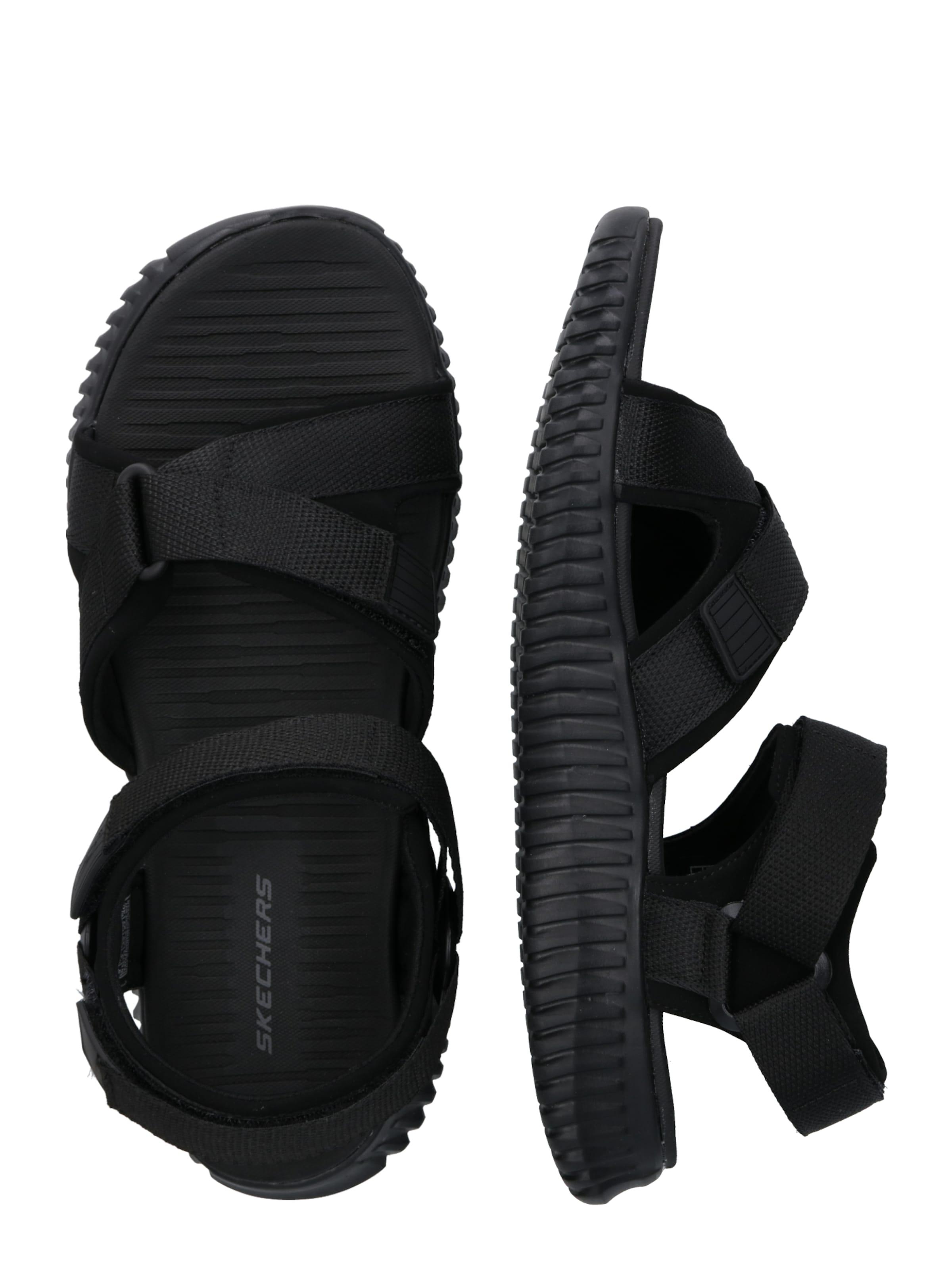 FlexLinston' 'elite Sandale In Schwarz Skechers wyv8ONnPm0