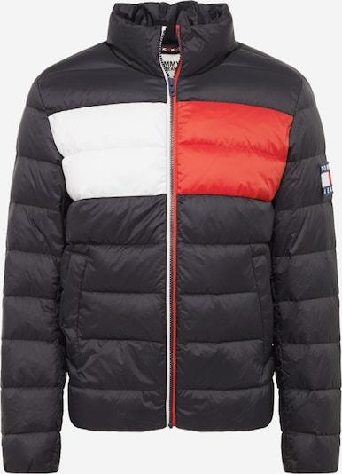 Tommy Jeans Kurtka zimowa 'TJM ESSENTIAL DOWN' w kolorze czerwony / czarny / białym, Podgląd produktu