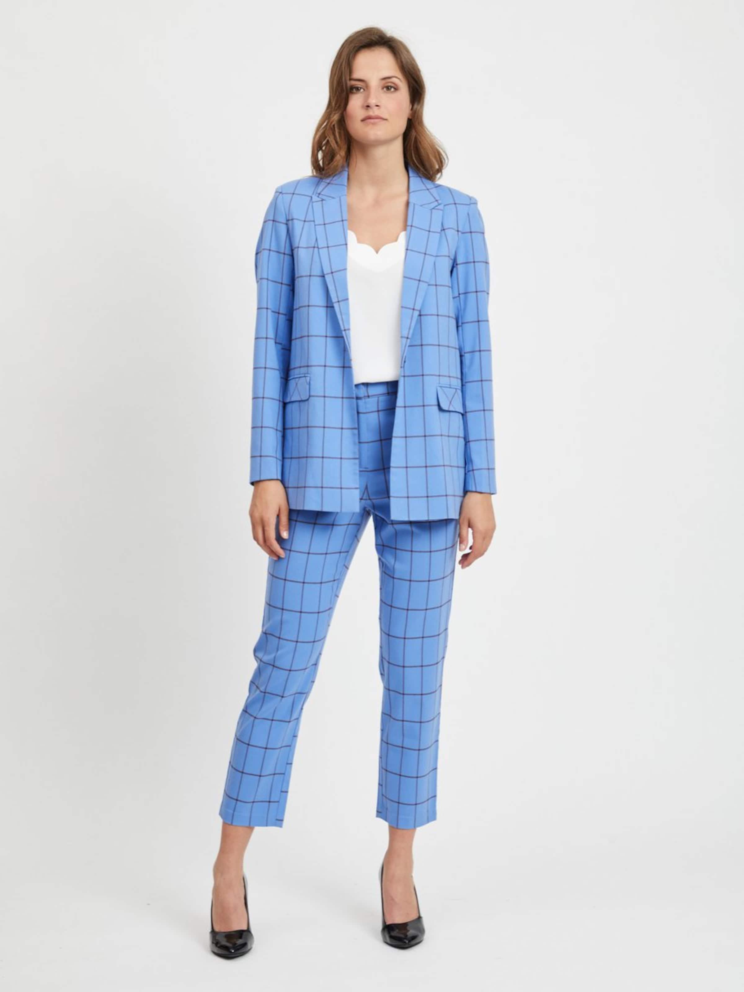 Pantalon Vila Clair Vila En Bleu N0XOwP8nk