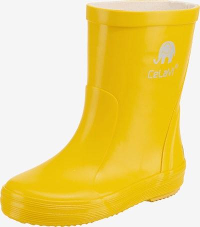 CELAVI Gummistiefel in gelb, Produktansicht