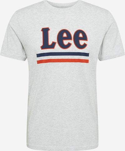 Lee Shirt 'Sharp' in graumeliert / naturweiß, Produktansicht