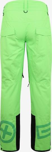 Laisvalaikio kelnės iš CHIEMSEE , spalva - neoninė žalia: Vaizdas iš galinės pusės