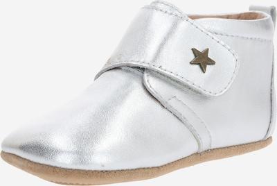 """BISGAARD Pantofle 'HOME SHOE - VELCRO """"STAR""""' - stříbrná, Produkt"""