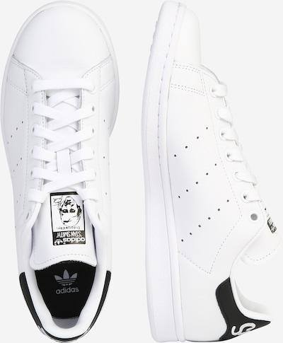 ADIDAS ORIGINALS Sneaker 'Stan Smith' in schwarz / weiß: Seitenansicht