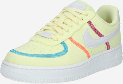 Nike Sportswear Tenisky 'Air Force 1 '07 LX' - nebeská modř / žlutá / světle šedá / zelená, Produkt