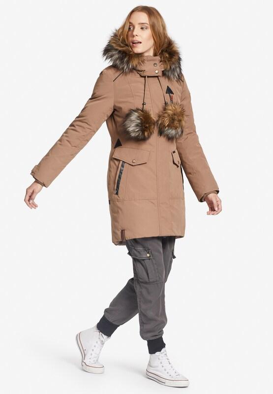 Khujo Mantel 'AVIVA' in camel    Mode neue Kleidung c528b9
