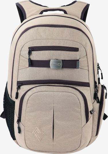 NitroBags Rucksack 'Hero' in beige / schwarz, Produktansicht