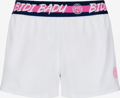 BIDI BADU Shorts 'Raven Tech' in pink / schwarz / weiß, Produktansicht