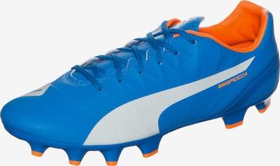 PUMA Fussballschuh in blau / orange / weiß, Produktansicht