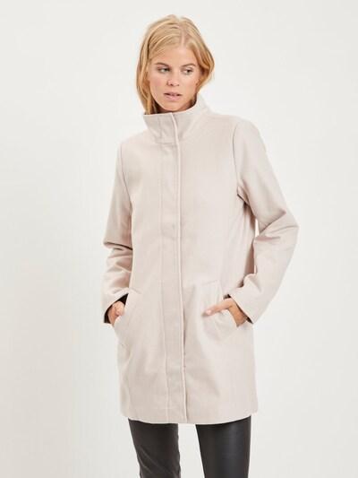 OBJECT Mantel in beige, Modelansicht