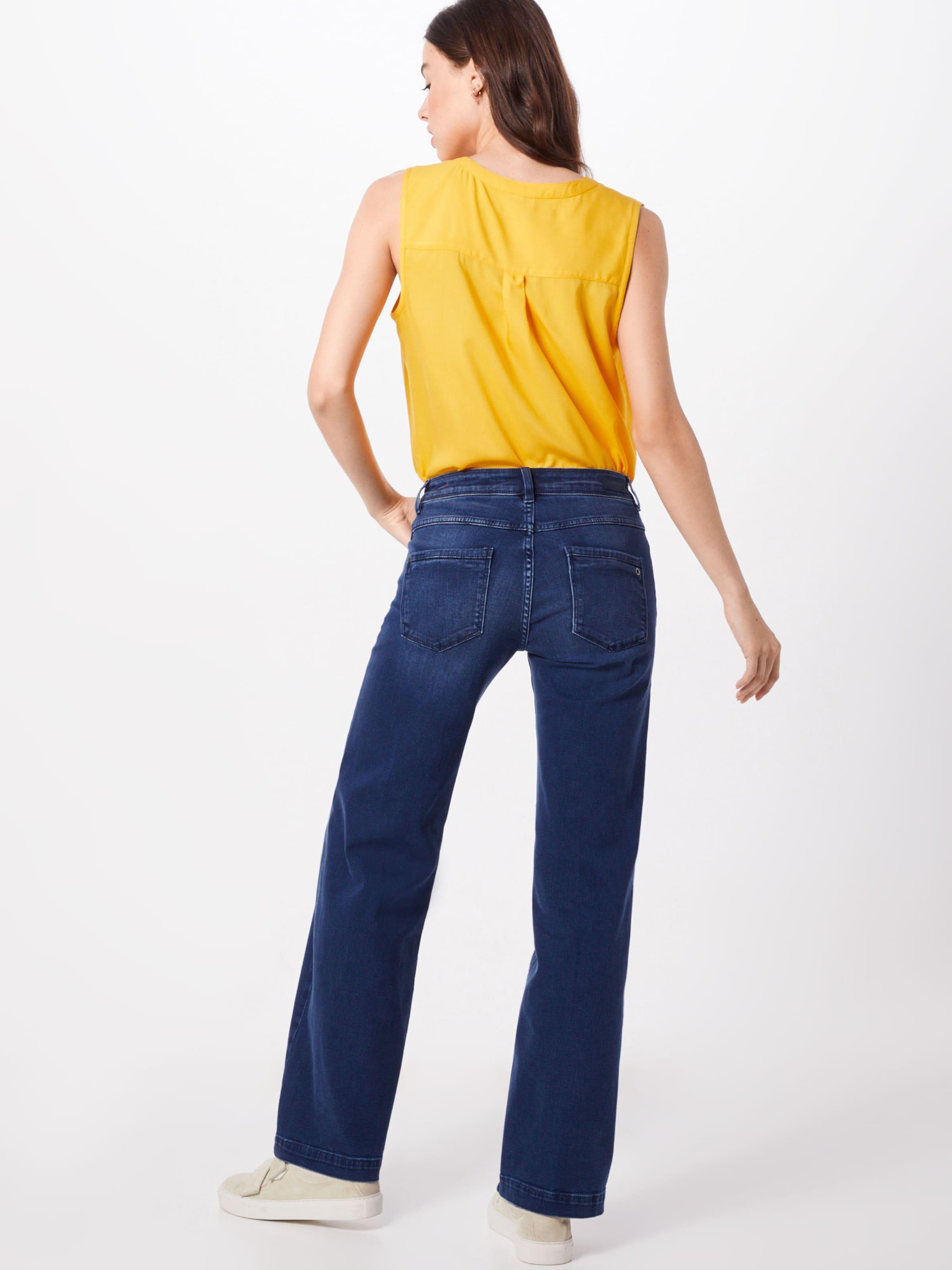 oliver Bleu 'smart Jean En Red S Label Wide' Denim HWED29I
