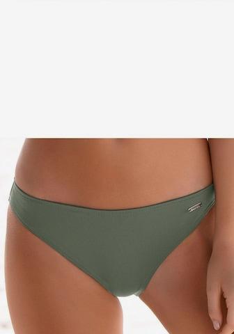 BENCH Bikini-Hose 'Pitch' in Grün